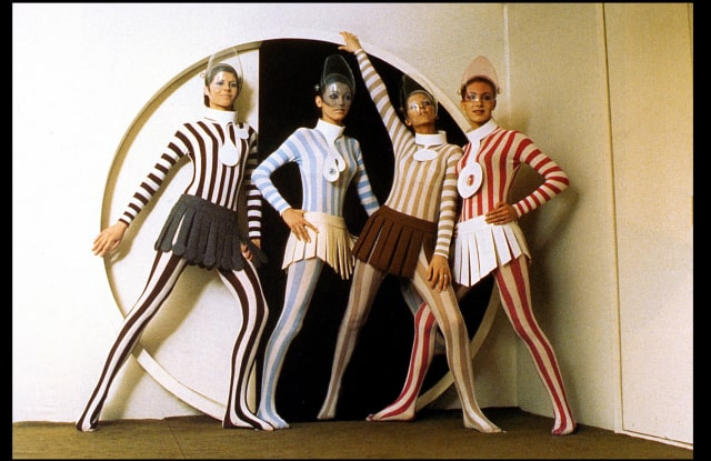 First Pierre Cardin Exhibition for Germany